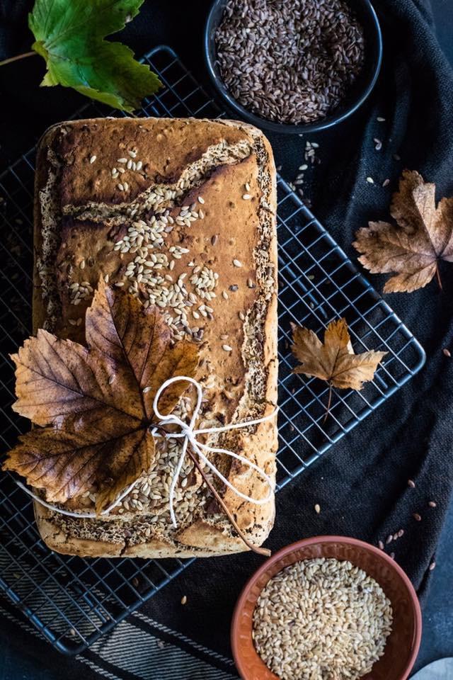 Seedy bread